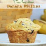 Two Ingredient Banana Muffins Easy Two Ingredient Banana Muffins made with cake mix. Can use gluten free cake mix and they taste just as good!Easy Two Ingredient Banana Muffins made with cake mix. Can use gluten free cake mix and they taste just as good! Banana Zucchini Muffins, Banana Recipes, Muffin Recipes, Cake Mix Recipes, Dessert Recipes, Banana Cake Mix, Banana Cakes, Yummy Treats, Healthy Recipes