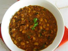 How To Make Spicy Lobia Recipe