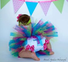 1st Birthday Diaper Cover Bloomers Made To Match Any Of My Birthday Tutu Sets. $18.00, via Etsy.