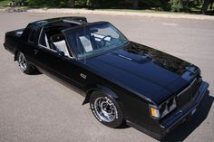 1986 Buick Grand National my dream car Buick Grand National Gnx, Buick Cars, Pontiac Cars, Chevrolet Corvette, Chevy, American Auto, Gm Car, Best Classic Cars, Classic Toys