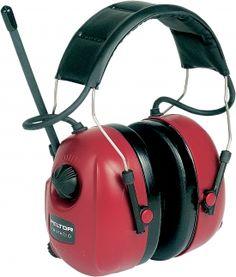 Radio-kuulosuojain. Kuulonsuojain, jossa on sisäänrakennettu radio. Kuulonsuojainradio on suunniteltu henkilöille, jotka työskentelevät meluisissa olosuhteissa, mutta haluavat kuunnella silti radiota.