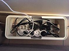 Boîte de Rangement Rectangulaire pour Câbles