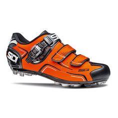 Sidi Buvel Orange Fluorescent Black EU 41.5 Cycling Shoes Mountain CX