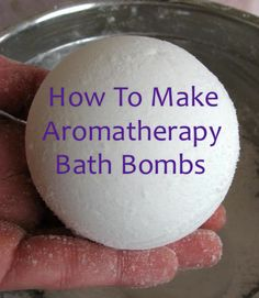 How To Make Homemade Fizzy Aromatherapy Bath Bombs...http://homestead-and-survival.com/how-to-make-homemade-fizzy-aromatherapy-bath-bombs/