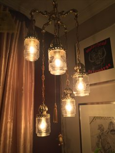 Redefined #swaglamp the old globes were long gone. Jam jars look surprisingly great!!
