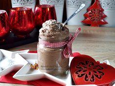 Mousse vegan de ciocolata si cocos Chocolate Fondue, Coco, Mousse, Deserts, Food And Drink, Drinks, Pie, Drinking, Beverages