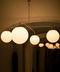 RUBN - Crafted in Sweden built by hand Black Furniture, Design Awards, Restaurant Bar, Lamp Light, Track Lighting, Light Fixtures, Table Lamp, Design Inspiration, Ceiling Lights