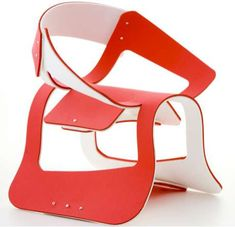 Sara Paculdo's 'Flat Chair Project' Proves Flat Doesn't Mean Square #homedecor trendhunter.com