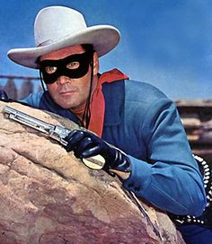 The Lone Ranger and the best TV hero ever:  Clayton Moore