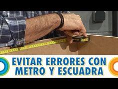 Evitar errores con el metro y la escuadra (BricocrackTV)