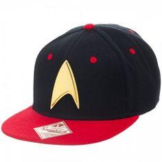 c74e06206a1 Star Trek Logo Red Black Snapback