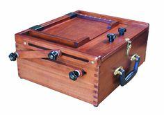 Art Apprentice Online - Sienna - All In One Pochade Box - PB-1014, $134.00 (http://store.artapprenticeonline.com/sienna-all-in-one-pochade-box-pb-1014/)