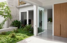 Scotia House by Myers Ellyett Architects – Project Feature – The Local Project Australian Architecture, Residential Architecture, Interior Architecture, Internal Courtyard, Timber House, Courtyard House, The Locals, Outdoor Living, Modern Design