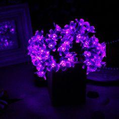 purple things | Purple Solar Flower Lights :: Great Things to Buy