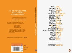 Zack Crook detail 2016 Winner Penguin Random Design Awards, ADULT Fiction (student work)
