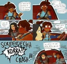 Korrasami would be hilarious! I can just imagine Mako's face.