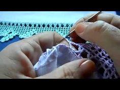 Bico em crochê com borboleta - vídeo 02/02 - YouTube