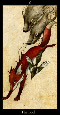 Interesting Fool card - don't know the deck, but I have a thing for foxes...