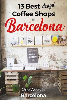 Time to let you know! Therefore, here is an article on my favorite coffee shops in Barcelona https://one-week-in.com/best-coffee-shops-barcelona/ #tipsforgoodcoffee #wheretofindgoodcoffee https://one-week-in.com