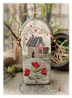 :: Crafty :: Quilt :: Patchwork :: Gallery.ru / Фото #109 - футляры для очков - lolenya