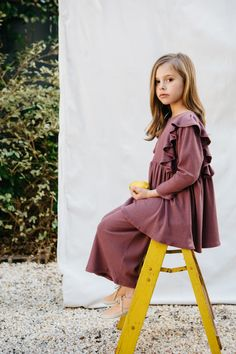 Library Littles Friday Dress & Tuesday Pant