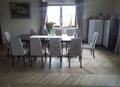 Chapel Parket jodełka Dining Table, Bar, Furniture, Home Decor, Decoration Home, Room Decor, Dinner Table, Home Furnishings, Dining Room Table