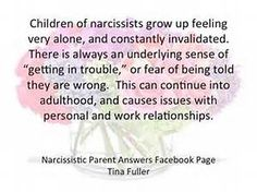 Children of Narcissists