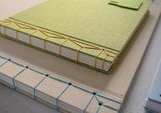 Buchbinden im japanischen Stil