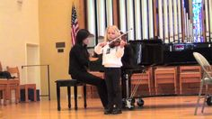 """Violin - Portnoff Concerto in E minor, 1st mov; Concertino in E minor, L. Portnoff, Op. 13. 1st mov. """"Allegro Moderato"""" Stephanie Chan on Piano Hosted by Golden Gate Philharmonic—See more of this young violinist #from_rsteele2001"""