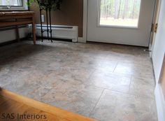 How to Install Groutable Vinyl Floor Tile