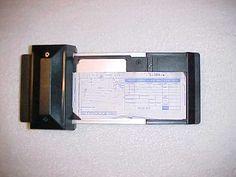 Credit Card Imprinter and Slip