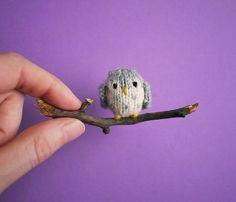 Ravelry: Tiny Owl pattern by Anna Hrachovec