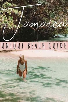Planning to travel to Jamaica? You'll want to add these beaches to your bucket lists! We've listed the best beaches in Negril, Montego bay, Ocho Rios, Kingston and Portland! There's plenty of things to do in this paradise islands! Whether you are on your honeymoon, spring break, or having a couples vacation! | #jamaica #caribbean #wanderlust