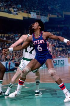 "Julius ""Dr. J"" Erving and the great John Havlicek"