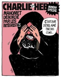 Charlie Hebdo The Prophet crying