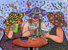 # 413 Девушки Празднование - Каролин Стич студия