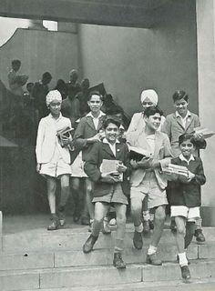 Indian School Boys Nairobi 1947