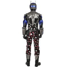 Buy DFYM Batman Arkham Knight Deluxe Leather Outfit Cosplay Costume Custom Made at online store Batman Arkham Knight Costume, Batman Cosplay Costume, Batman Halloween Costume, Anime Costumes, Movie Costumes, Cosplay Costumes, Genji Cosplay, Knight Halloween, Red Hood