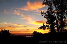 Lake Mathews Sunset  photograph photography sky by GerushiasGarden