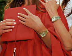 Celebrate your graduate with personalized Michele watches