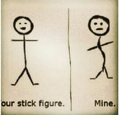 LOL. This is actually so true. No need to know how to draw a straight line for me!