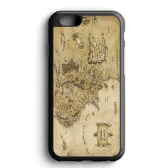 World Map The Hobbit iPhone 7 Case