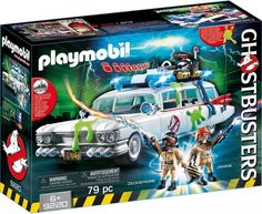 Superb Playmobil Ghostbusters Ecto 1 9220 Now At Smyths Toys UK! Buy Online Or Collect At Your Local Smyths Store! We Stock A Great Range Of Playmobil At Great Prices. Playmobil Ghostbusters, Ghostbusters Proton Pack, The Real Ghostbusters, Ghostbusters Characters, Original Ghostbusters, Play Mobile, Toys Uk, Kids Toys, Puzzle Box