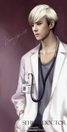 DOCTOR!! X_x sooo Sexy :3 ok no!...