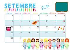QUÉ HACEMOS HOY EN EL COLE?: calendario
