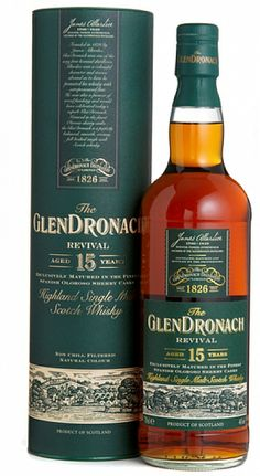 GlenDronach 15 yrs Revival, 90/100pts//JL Nose: 23 Taste: 23 Finish: 22 Balance: 22