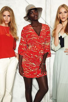 Twinkle by Wenlan.  I adore the way bright colors make dark skin just...glow!