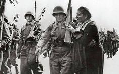 Αναχώρηση ελληνικού στρατεύματος για την Κορέα Νοέμβριος 1950.Αρχείο Keystone/Getty Images. Good Lord, Mothers, Good Things, Art, Art Background, Kunst, Performing Arts, Art Education Resources, Artworks