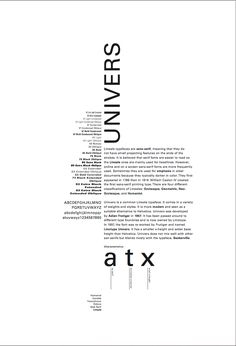 Poster #2 for type. By: Carly Churchill