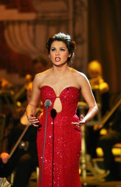Anna Netrebko. I absolutely love her in this dress. I want it soooo bad!!!!